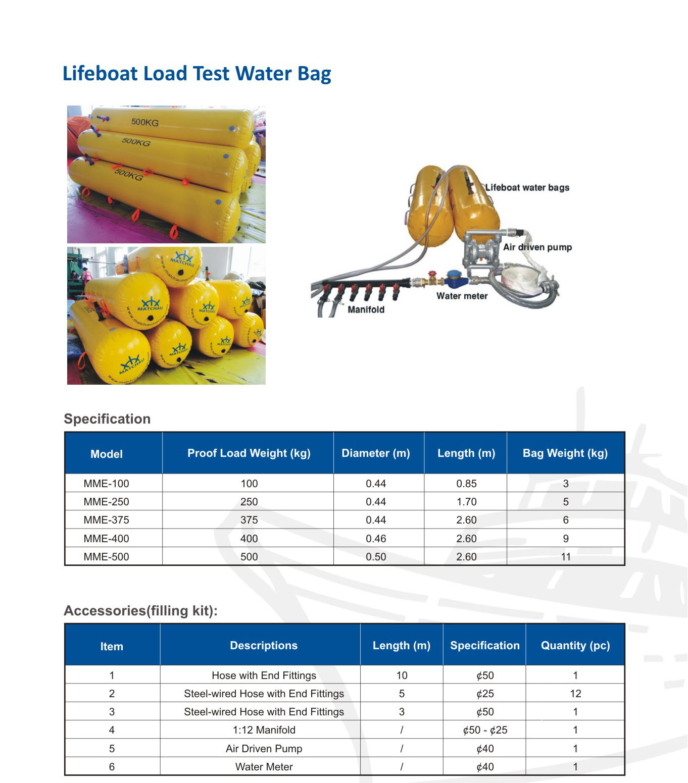 Brochure For Load Test Water Bags Page 2 Msc